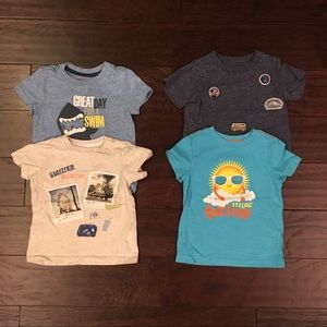 Other - 4 t-shirts 12-18m